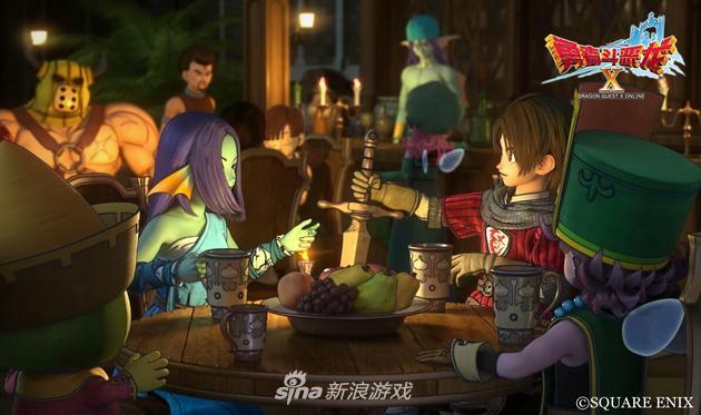 《勇者斗恶龙X》拥有纯正的日系RPG风格