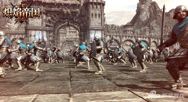 《炽焰帝国2》攻城战部队兵种对抗