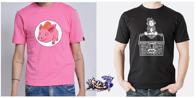 《诛仙3》潮品T-恤示意图