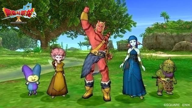 《勇者斗恶龙X》五大种族