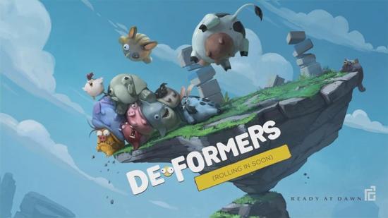 《De-Formers》的画风相当清新可爱