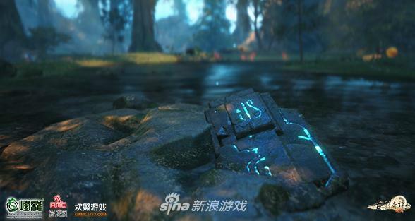 古剑OL满级邀请体验中玩家截图的符文元素