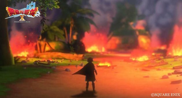 主人公的村庄被冥王毁灭