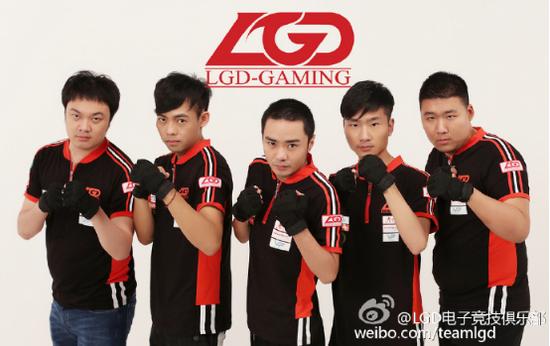 LGD.DOTA2战队弃权NEA北京电子竞技公开赛南昌轮滑豆豆图片