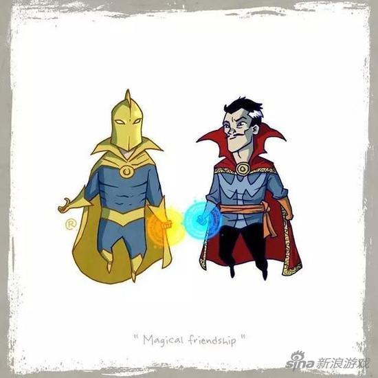 dc:命运博士 vs 漫威:奇异博士