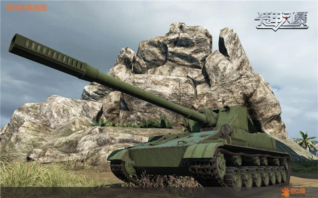 苏系坦克歼击车SU-152P