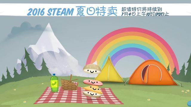 Steam夏日特卖开启大作速入手