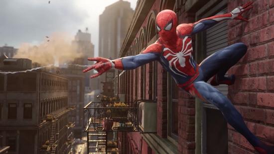 PS4《蜘蛛侠》新作画质有保证