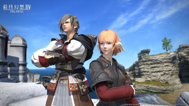 《最终幻想14》新发型