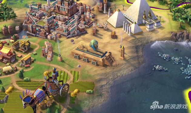文明6埃及特有单位——狮身人面像