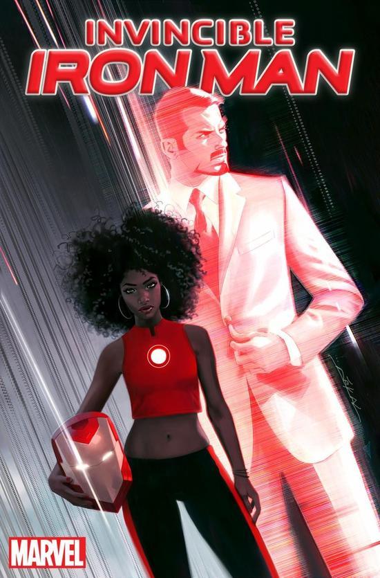 漫威将打造巨型美马塞尔留下的线索队雕像 钢铁侠变成黑人女孩