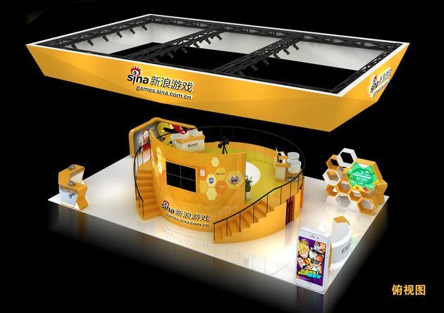 chinajoy2016新浪游戏展台