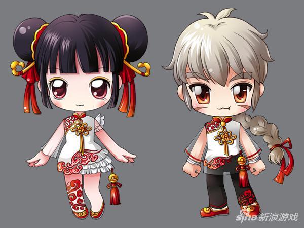 萌翻了!《冒险岛2》中国风时装玩家优秀作品赏
