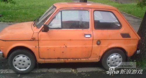 CDPR的第一辆车,开了很多年。