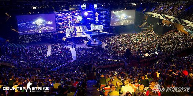 CS:GO国际赛事现场盛况