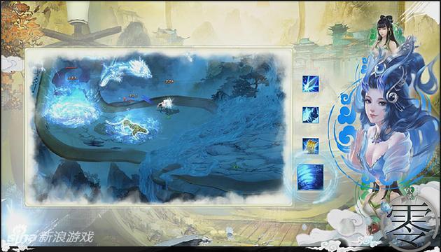 腾讯回合网游《代号:零》战斗画面