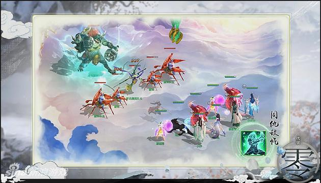 腾讯回合网游《代号:零》游戏战斗场景