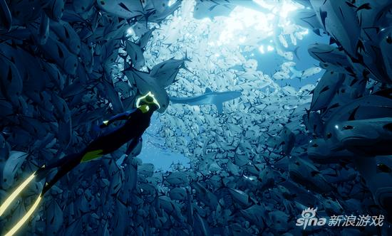 《ABZU》让你觉得自己就是一只鱼