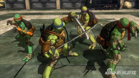 白金的代工模式似乎在《忍者神龟:曼哈顿突变》中玩脱了