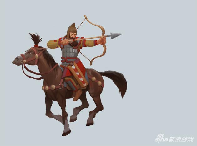 《文明6》塞西亚文明萨卡骑射手