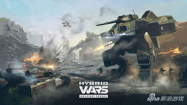 《坦克世界》开发商公布科幻射击新作Hybrid Wars