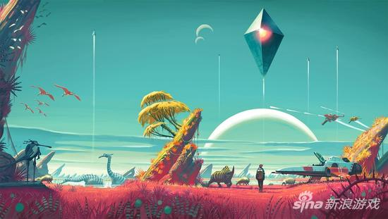 没人能真的探索完所有的星球 这也是有限与无限的智慧