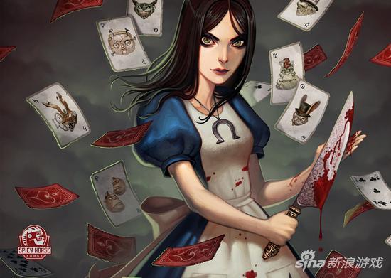 每日荐游《爱丽丝疯狂回归》 提刀淌血的另类美