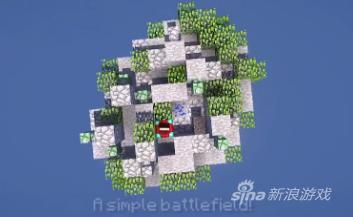 《我的世界》PC领域服新地图