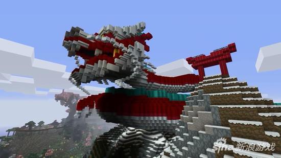 包括西游记,天宫,乐山大佛,熊猫,中国龙等等元素,喜欢中式建筑风格的图片