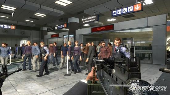 COD的机场屠杀带给人们的反思 其价值早已远超暴力本身