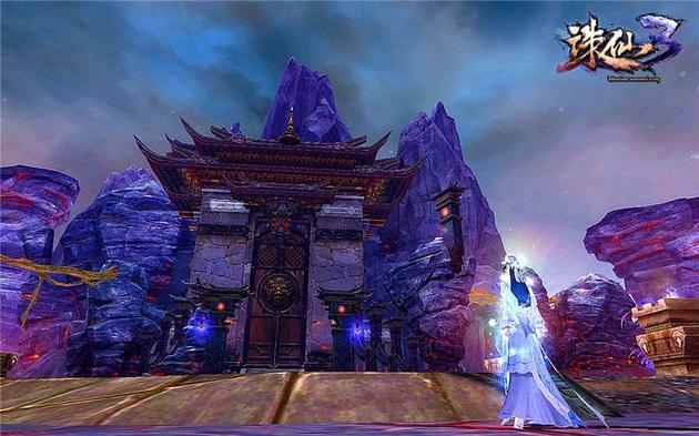 《诛仙3》西荒巫地-魔神殿遗址