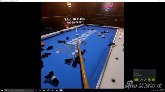 奥沙利文用VR玩台球摔倒