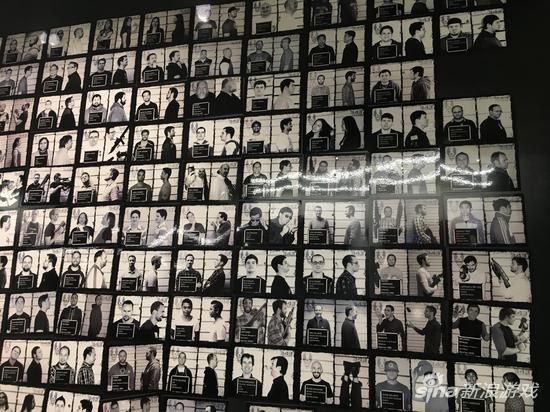 343的员工荣誉墙