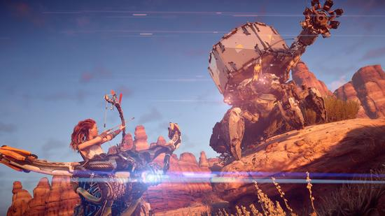 《地平线:零之黎明》新图公布