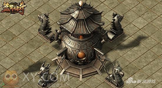 黄袍加身 XY游戏《蓝月传奇》圣装合成新版来袭
