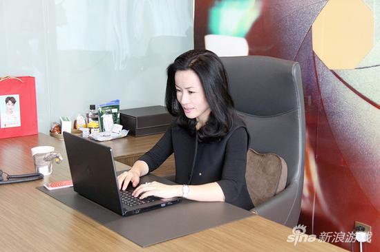 空中网执行副总裁、空中银河影业董事张颖楠