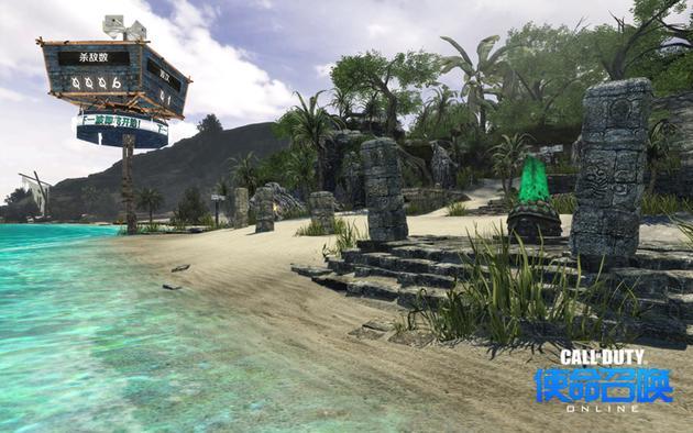 屠戮海滩场景