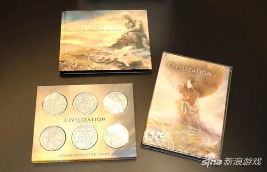 《文明6》25周年纪念版开箱