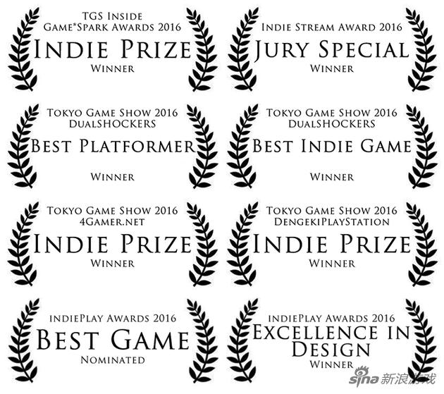 《代号:硬核》目前获得的系列奖项
