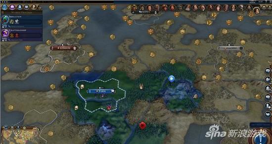 《文明6》Mod覆盖整个世界