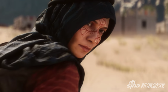 在游戏中取而代之的是一位女英雄