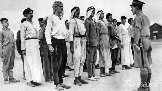 二十世纪初阿拉伯士兵