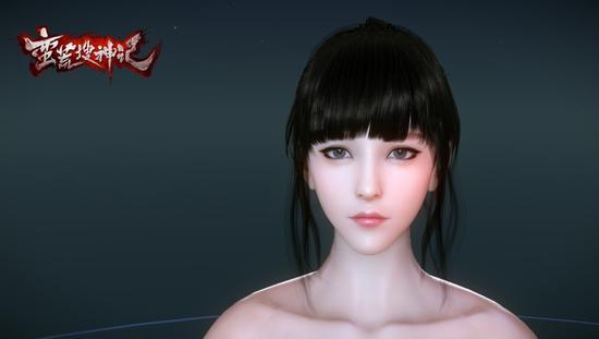 图1:精致的人物模型