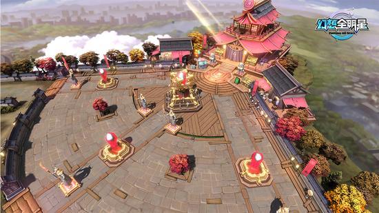《幻想全明星》游戏背景