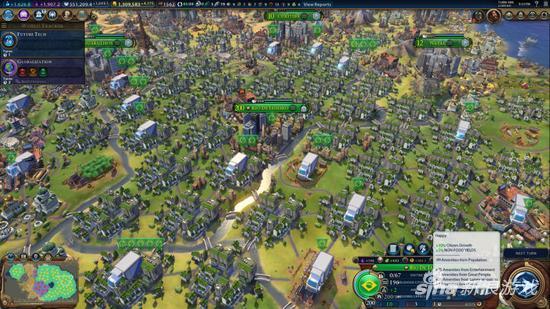 《文明6》200人口的超级大城
