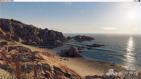 游戏中旧金山风景