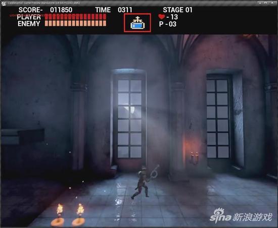 玩家利用虚幻4重制《恶魔城》被科乐美叫停