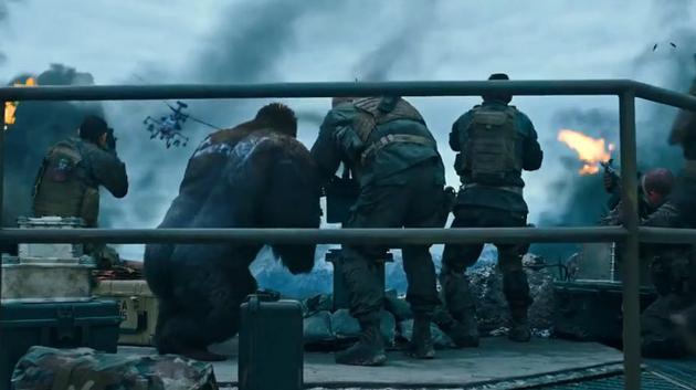 《猩球崛起3》预告片