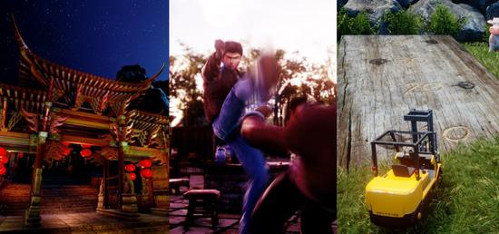 《莎木3》三张新实机画面公布