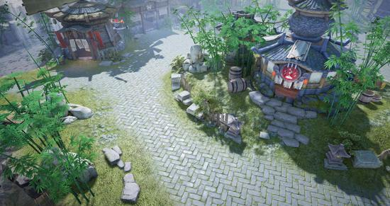 安静祥和的古灵村